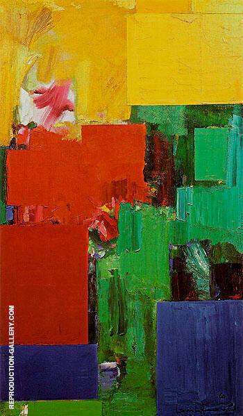 Elyseum 1959 By Hans Hofmann