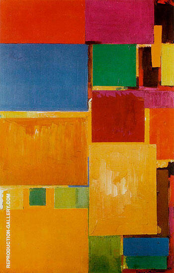 Cathedral 1959 By Hans Hofmann - Oil Paintings & Art Reproductions - Reproduction Gallery