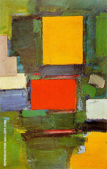 The Gate 1959 By Hans Hofmann - Oil Paintings & Art Reproductions - Reproduction Gallery