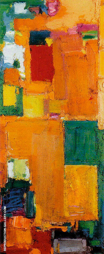 Reproduction of Kaleidos 1958 by Hans Hofmann | Oil Painting Replica On CanvasReproduction Gallery