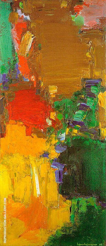 Reproduction of Rhapsody 1958 by Hans Hofmann | Oil Painting Replica On CanvasReproduction Gallery
