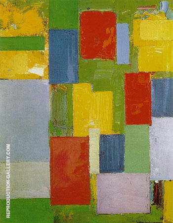 Abstract Euphony 1958 By Hans Hofmann