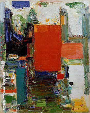 Bird Cage Variation II 1958 Painting By Hans Hofmann