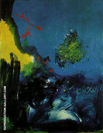 Oceanic 1958 By Hans Hofmann - Oil Paintings & Art Reproductions - Reproduction Gallery