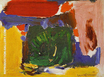 Reproduction of Daybreak 1958 by Hans Hofmann | Oil Painting Replica On CanvasReproduction Gallery