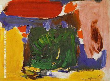 Daybreak 1958 By Hans Hofmann