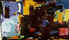Early Dawn 1957 By Hans Hofmann