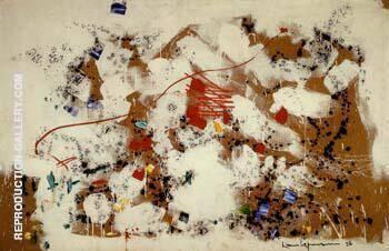 Fleurry 1958 By Hans Hofmann