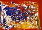One Afternoon 1955 By Hans Hofmann