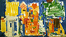 Studio No 2 in Blue 1954 By Hans Hofmann