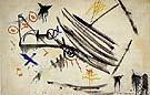 White Expansion 1954 By Hans Hofmann
