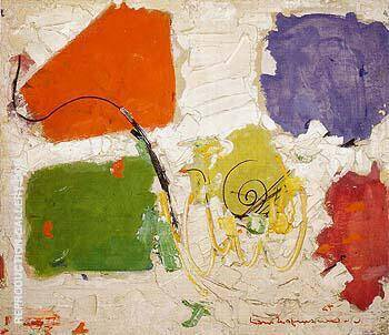 Black Spiral 1954 By Hans Hofmann - Oil Paintings & Art Reproductions - Reproduction Gallery