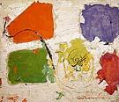 Black Spiral 1954 By Hans Hofmann
