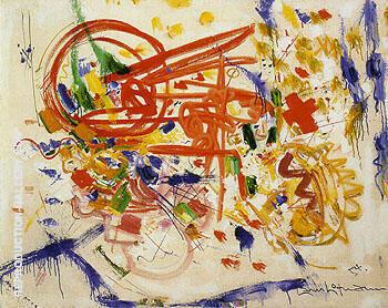 Laburnum 1954 By Hans Hofmann