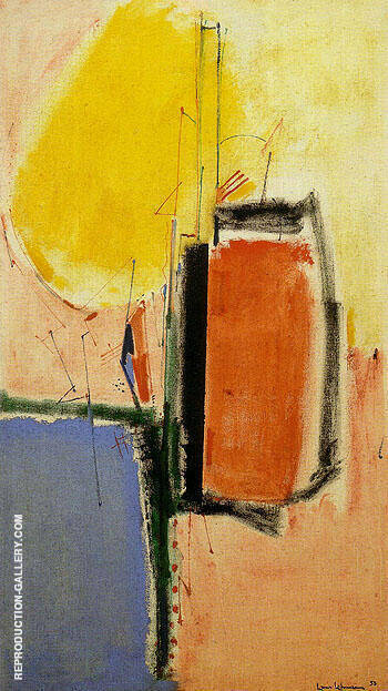 Composition No 1 1953 By Hans Hofmann - Oil Paintings & Art Reproductions - Reproduction Gallery