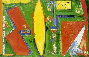 Composition 1953 II By Hans Hofmann