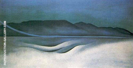 Lake George 1924 By Georgia O'Keeffe