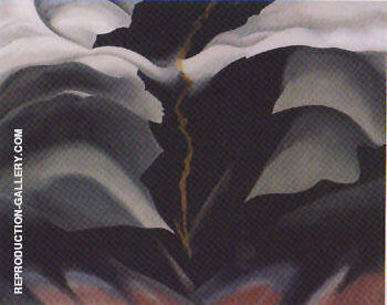 Black Place II By Georgia O'Keeffe - Oil Paintings & Art Reproductions - Reproduction Gallery