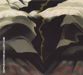 Black Place III By Georgia O'Keeffe - Oil Paintings & Art Reproductions - Reproduction Gallery