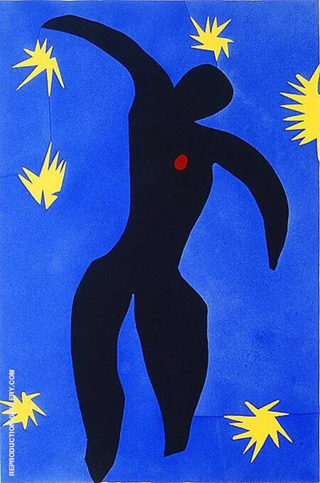 Icarus 1947 By Henri Matisse