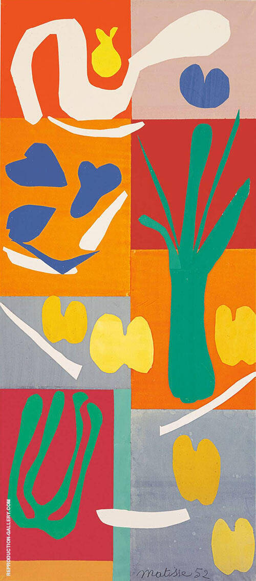 Vegetables By Henri Matisse Replica Paintings on Canvas - Reproduction Gallery
