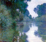Sunrise on the Seine c1890 By Claude Monet