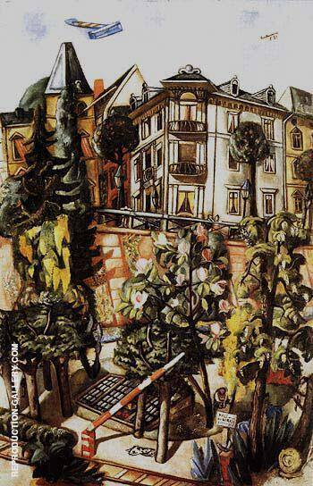 Reproduction of The Nizza in Frankfurt am Main 1921 by Max Beckmann | Oil Painting Replica On CanvasReproduction Gallery