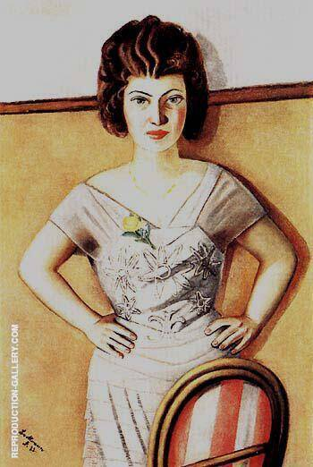 Portrait of Frau Dr Heidel 1922 By Max Beckmann - Oil Paintings & Art Reproductions - Reproduction Gallery