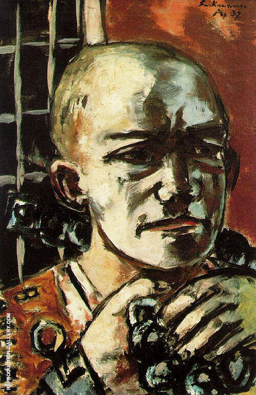 Released 1937 By Max Beckmann Replica Paintings on Canvas - Reproduction Gallery