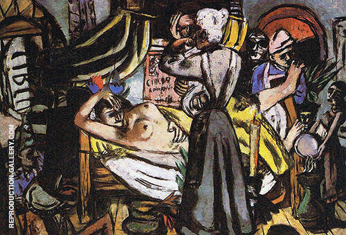 Birth 1937 By Max Beckmann Replica Paintings on Canvas - Reproduction Gallery