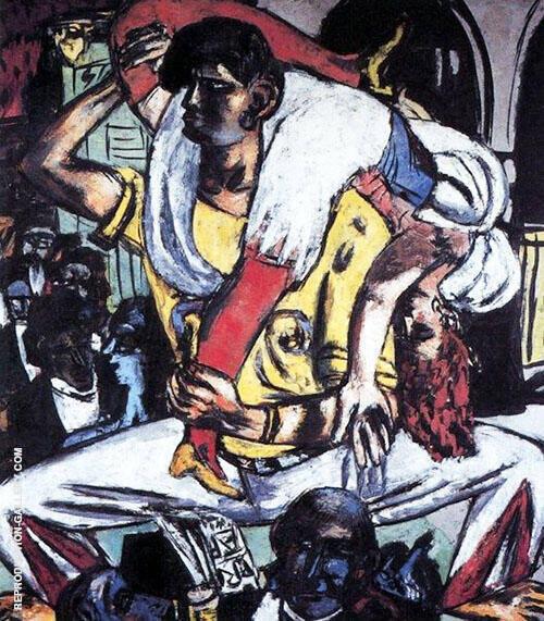 Apache Dance 1938 By Max Beckmann