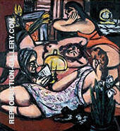 Girls Room Siesta 1947 By Max Beckmann Replica Paintings on Canvas - Reproduction Gallery