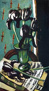Black Iris 1928 By Max Beckmann
