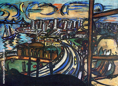 San Francisco 1950 Painting By Max Beckmann - Reproduction Gallery