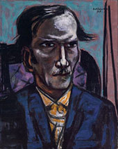 Portrait of Fred Conway 1949 By Max Beckmann