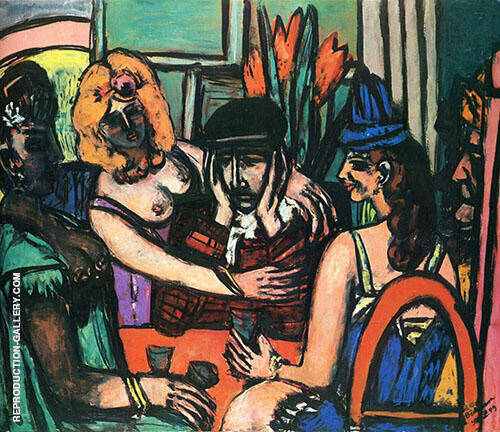 The Prodigal Son 1949 Painting By Max Beckmann - Reproduction Gallery