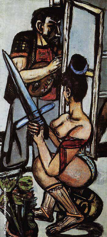 The Argonauts I 1950 Painting By Max Beckmann - Reproduction Gallery