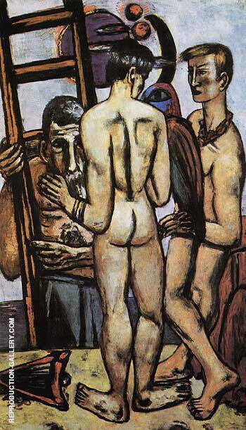 Reproduction of The Argonauts II 1950 by Max Beckmann | Oil Painting Replica On CanvasReproduction Gallery