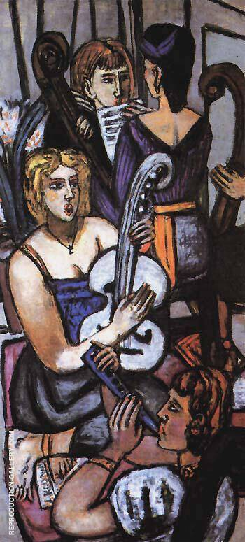 The Argonauts III 1950 By Max Beckmann