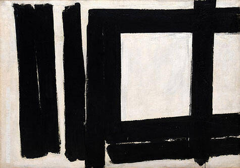 Number 7 1952 By Franz Kline - Oil Paintings & Art Reproductions - Reproduction Gallery