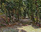 Avenue in the Park St Cloud 1906 By Gabriele Munter