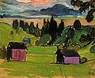 View of the Murnau Moors 1908 By Gabriele Munter