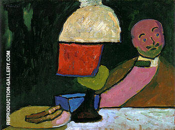 Listening Portrait of Jawlensky 1909 By Gabriele Munter
