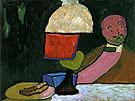 Listening Portrait of Jawlensky 1909 By Gabriele Munter