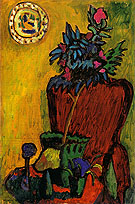 Still Life with Chair 1909 By Gabriele Munter