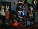 Dark still Life Secret 1911 By Gabriele Munter