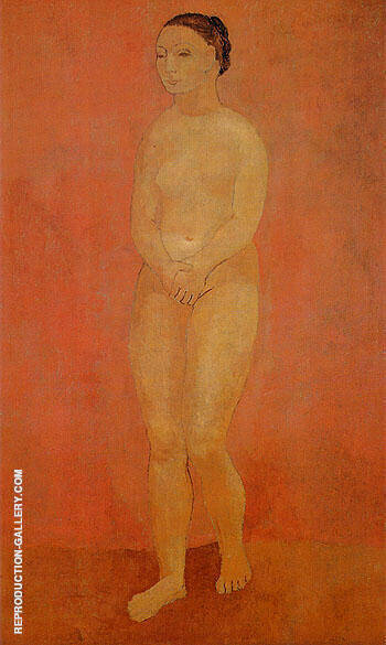 Large Standing Nude 1906 By Pablo Picasso Replica Paintings on Canvas - Reproduction Gallery