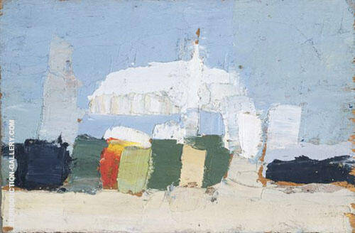 La Lavandou By Nicolas De Stael Replica Paintings on Canvas - Reproduction Gallery