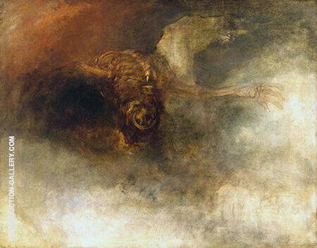 Death on a Pale Horse By Joseph Mallord William Turner