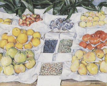Still Life c1880 By Gustave Caillebotte - Oil Paintings & Art Reproductions - Reproduction Gallery